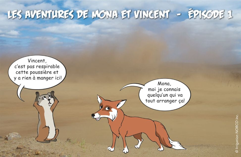Les aventures de Mona et Vince - Épisode 1