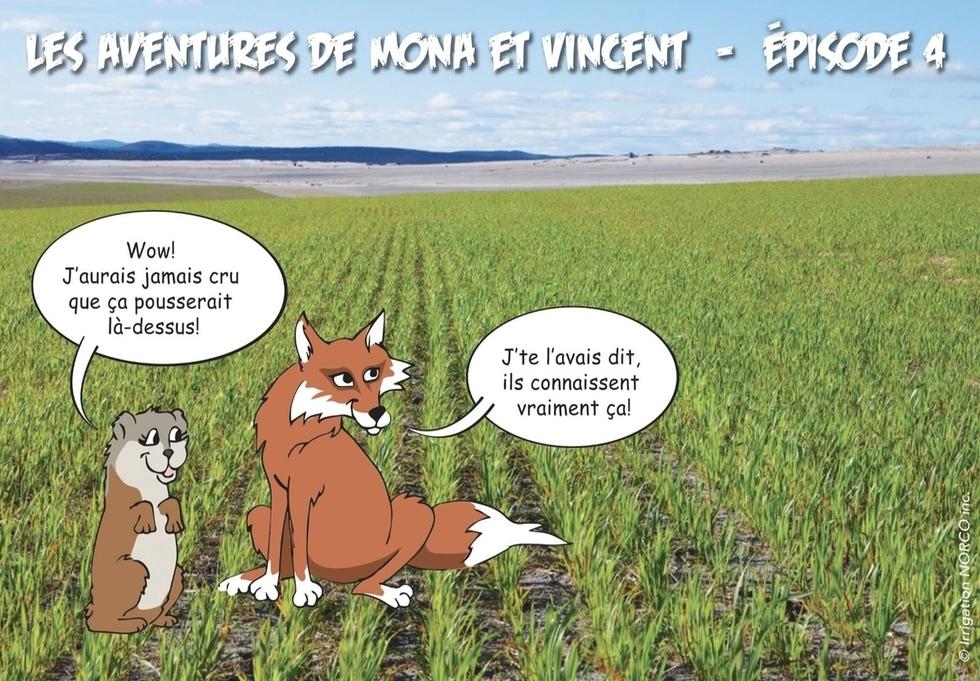 Les aventures de Mona et Vince - Épisode 4